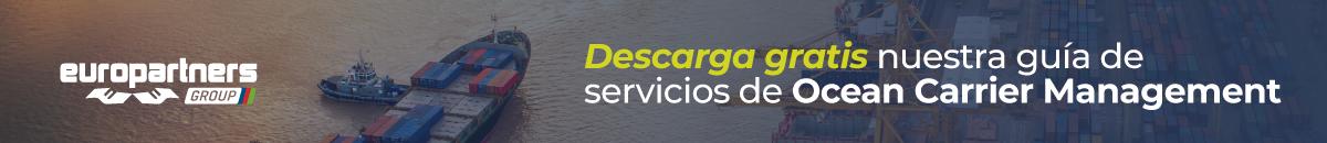 Descarga grátis nuestra guía de servicios de Ocean Carrier Management