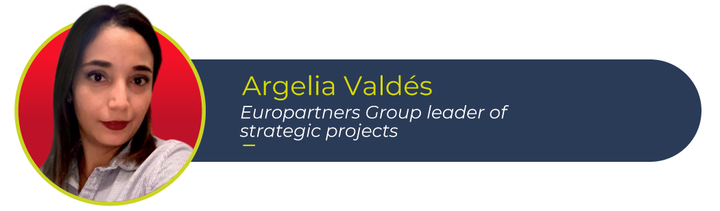 Argelia Valdés, Europartners Group leader of strategic projects